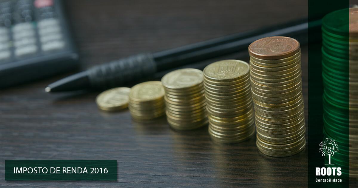 Imposto de Renda 2016 – Receita paga hoje restituições do 3º lote