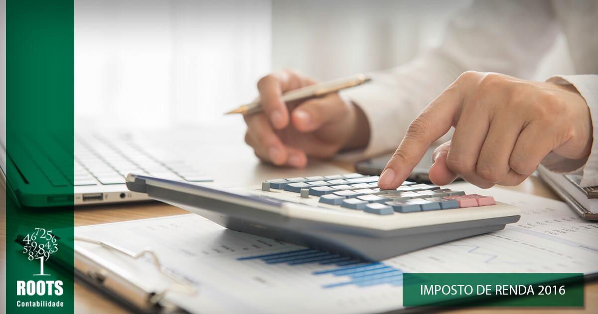 Imposto de Renda 2016 : Consulta para o 4º lote abriu hoje | Roots Contabilidade