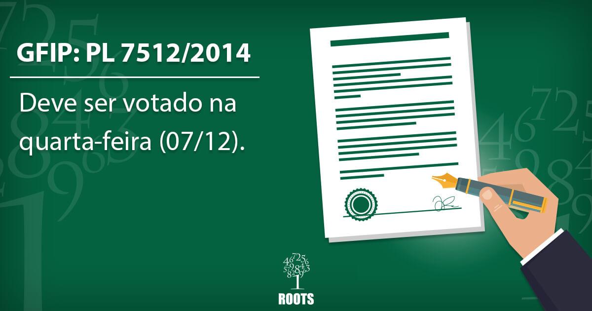 GFIP: PL 7512/2014 deve ser votado nesta semana na CFT