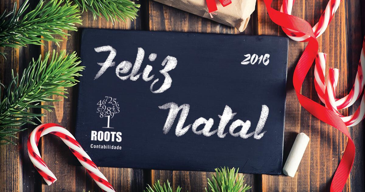 Feliz Natal a todos | Roots Contabilidade